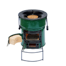 Two-Door Eco Ceramic Cookstove