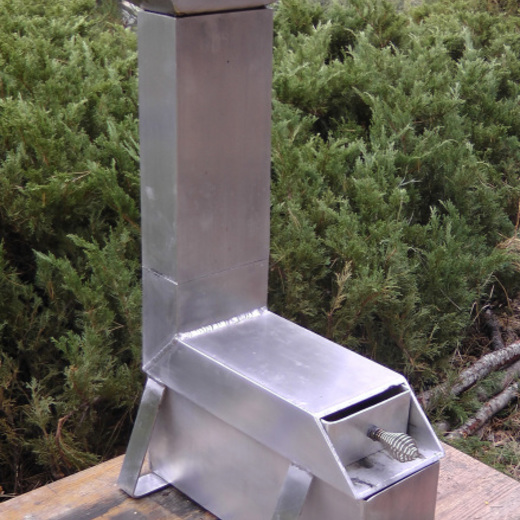 Gordon Rocket Stove
