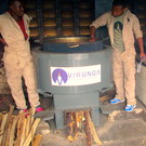 VEW 300 Liter Heavy Duty Mobile Rocket Stove
