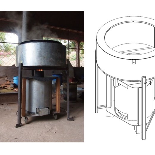 EfCoiTa Institutional TLUD stove