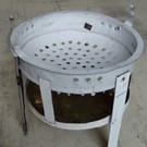 Traditional Round Haitian Cookstove